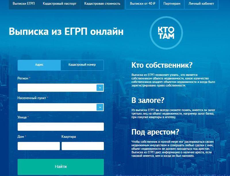 Сайт «Кто там»