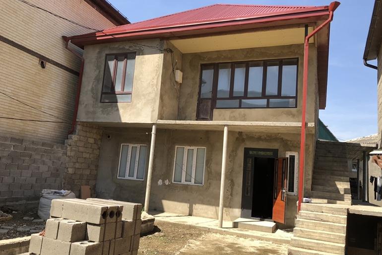 Новый дом в Махачкале